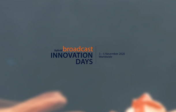 Programmablauf der Broadcast Innovation Days