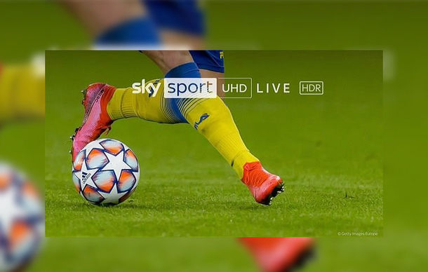 Sky Q: UEFA Champions League und Netflix in HDR