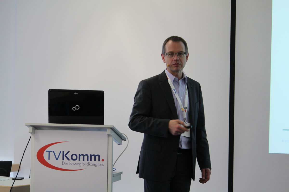 Olaf Korte, Head of Broadcast Applications, Fraunhofer IISWeiß