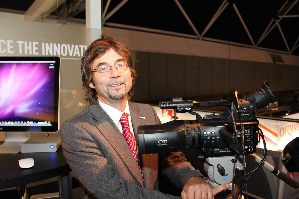 Panasonic Deutschland Manager Andreas Flemming