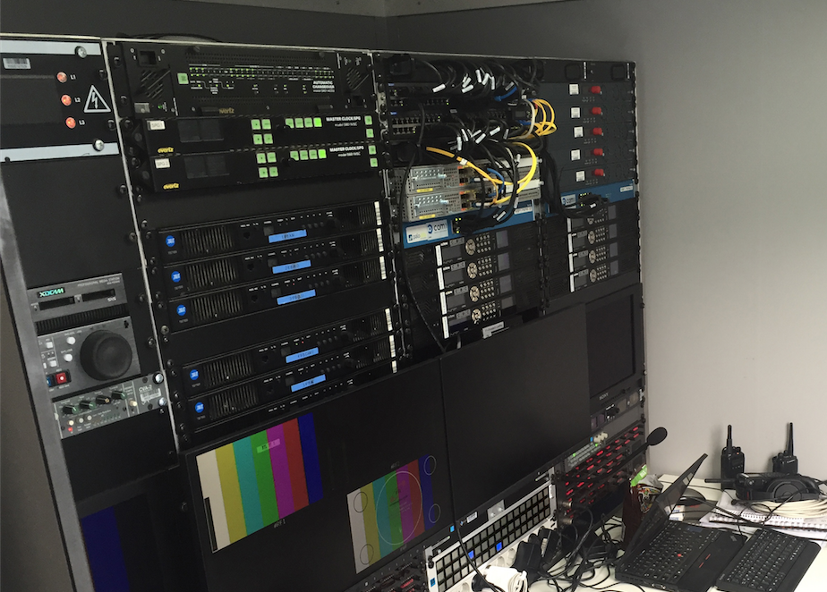Remote TV Production bei der Formel 1