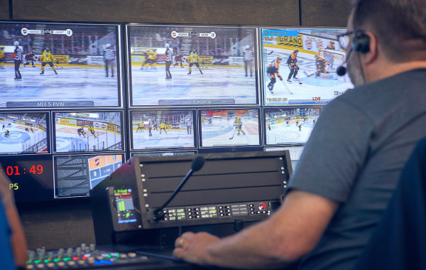 Remote Production Hub Finnische Eishockey Liga