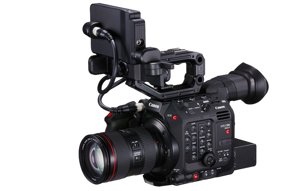 Canon EOS C500 Mark II für immersiven Vollformat-Look