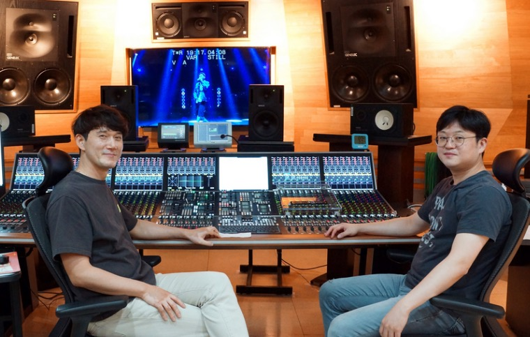 KBS Tonregie Maintenance Engineers Yang Jung Hwa & Kim Jae Min