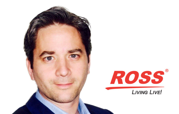 Ross Video macht Oscar Juste zum Senior Vice President of Global Sales