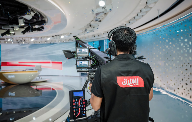 Innovative IP-Infrastruktur bei Asharq News