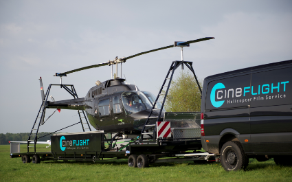 Cineflight mit neuem Helicopter-Trailer