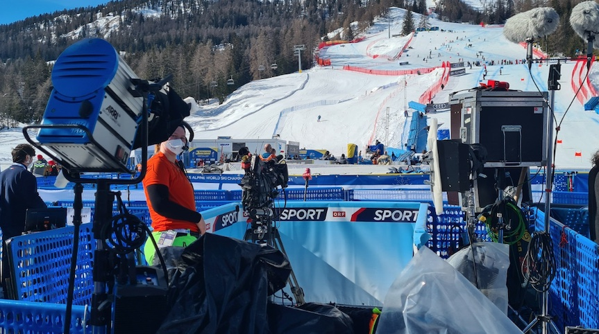 ORF-Position in der Mixed Zone